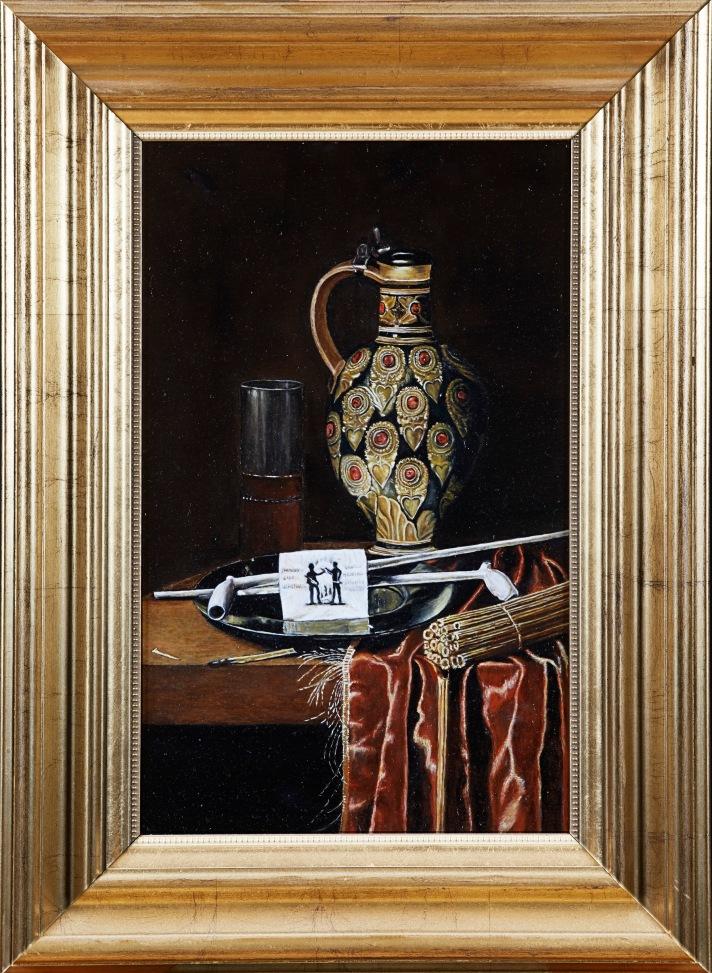 "Hubert Van Ravesteyn ""Smoker"" copy by Lara Laria Martin"