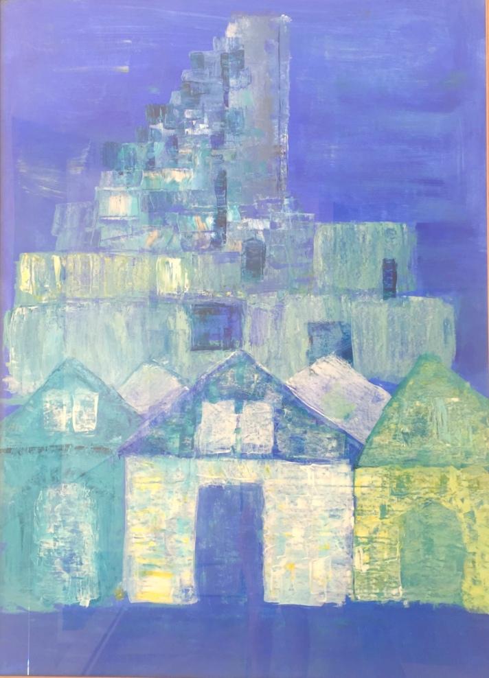 Lara Laria Martin painting Arles & Gerhy