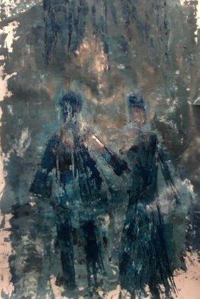 BLUE BIRDS COUPLEinNacht und Nebel Lara Laria Martin