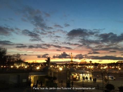 lara laria martin vue de Paris Tuileries 2